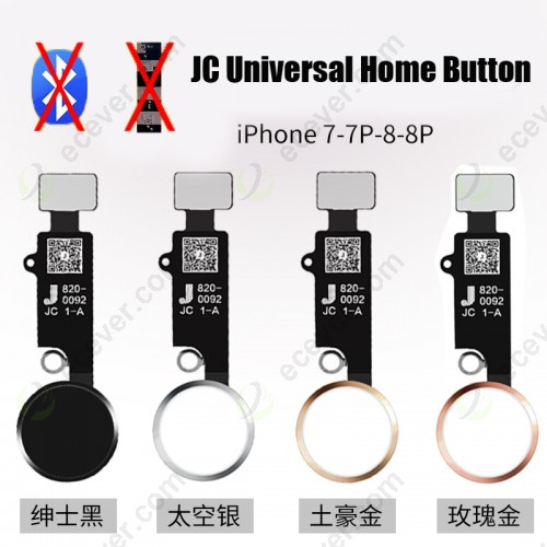 Universal Home Return Button for iPhone 7 8 7 Plus and 8 Plus (no need bluetooth)