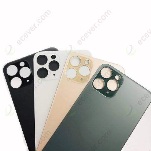 Big Hole Back Cover Glass Rear Cover For iPhone 11 pro 11 max