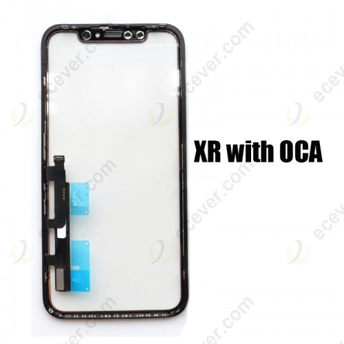 Touch Panel Screen Digitizer with Frame Bezel for iPhone XR with OCA or without OCA
