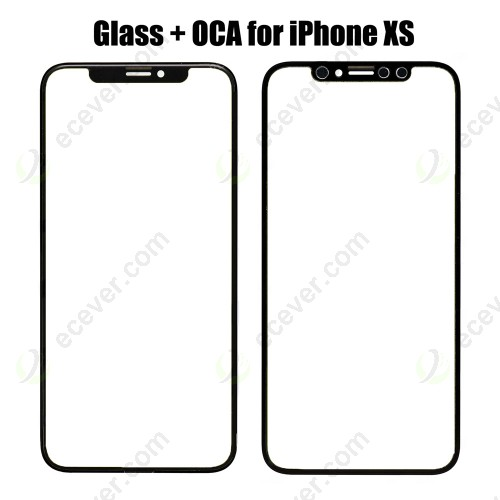 Front Glass with OCA Foil for iPhone XS