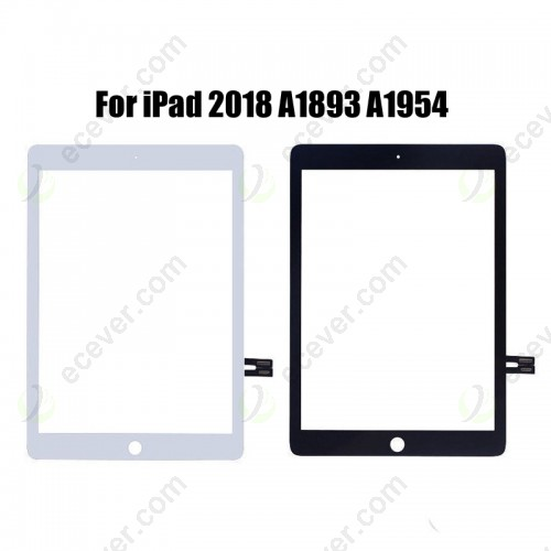 Touch Screen Front Panel Glass For iPad 9.7 2018 A1893 A1954