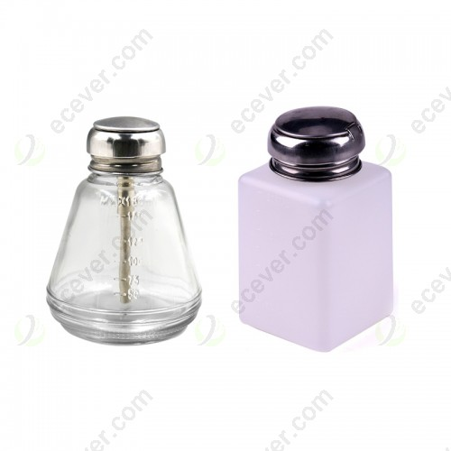 Alcohol liquid bottle container for LCD Cleaning