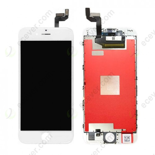 AUO China LCD Digitizer Touch Glass Combo for iPhone 6S White