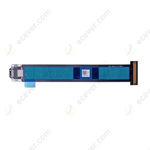 "(3G Version) Charging Port Flex Cable for iPad Pro 12.9"" Black"