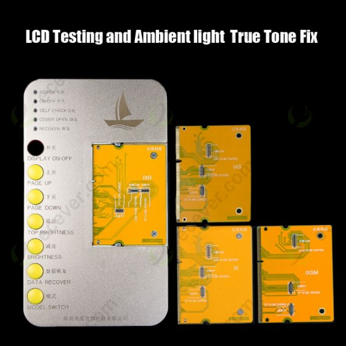Light Sensor True Tone fix + LCD Touch 3D Testing Machine Tester for iPhone X XS 11 11 Pro Max 6S 7 8 Plus
