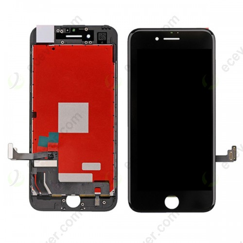 Black for iPhone 7 LCD Screen Touch Digitizer Assembly