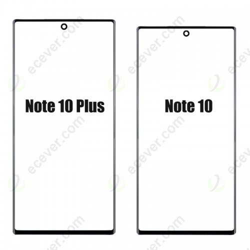 Front Glass for Samsung Galaxy Note 10 and Note 10+