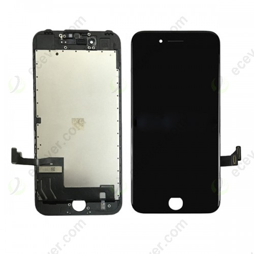 Full Original iphone 7 lcd screen touch digitizer assembly with frame black