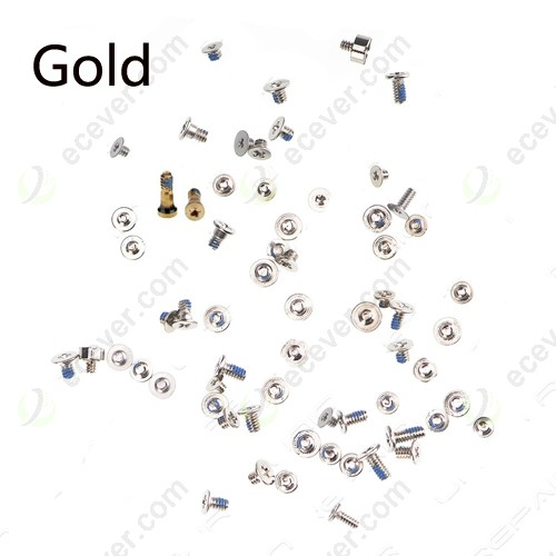 Full Screws for iPhone 7 Gold