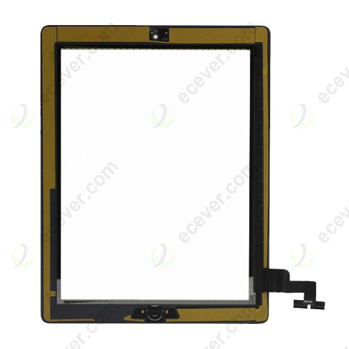 iPad 2 Digitizer Screen Glass White assembly