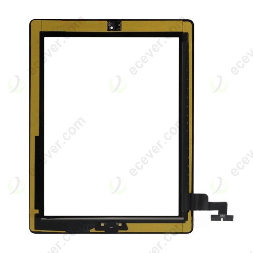 iPad 2 Digitizer Touch Screen Glass assembly Black