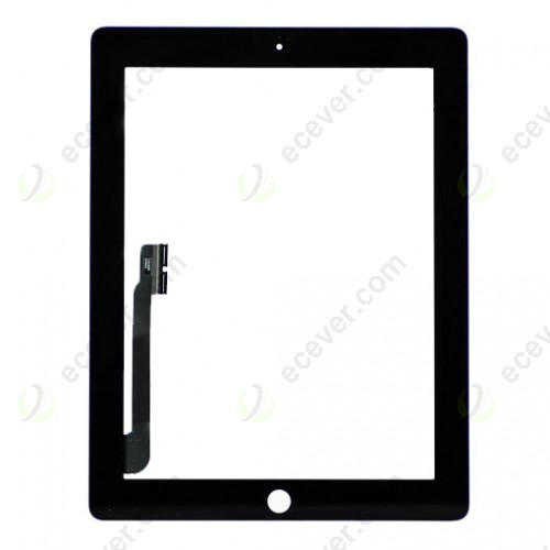 iPad 4 Digitizer Black