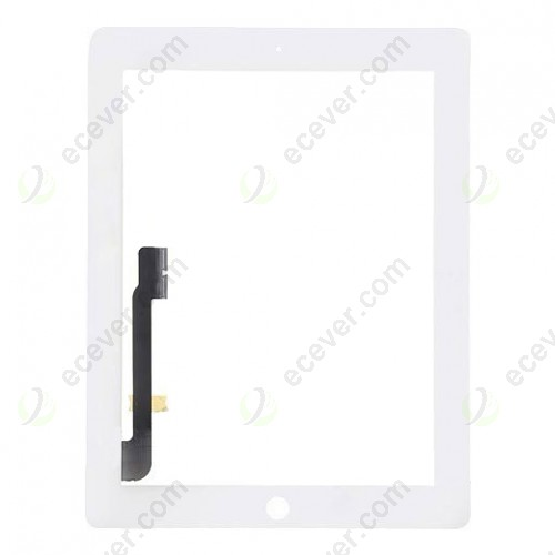 iPad 4 Touch Panel Screen White