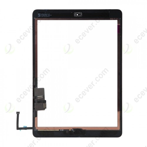 iPad Air Touch Screen Digitizer Assembly with Home Button Flex Black