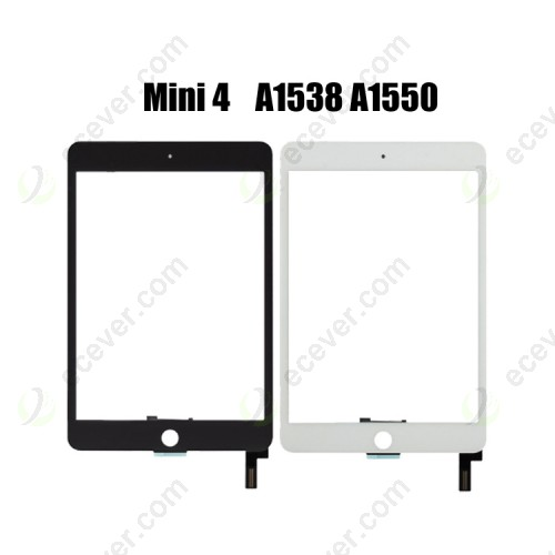 Touch Screen Digitizer Front Touch Glass Replacement for iPad Mini 4 A1538 A1550