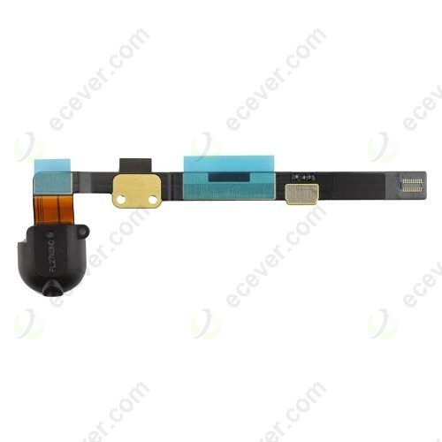 original iPad mini audio Headphone Jack flex cable black