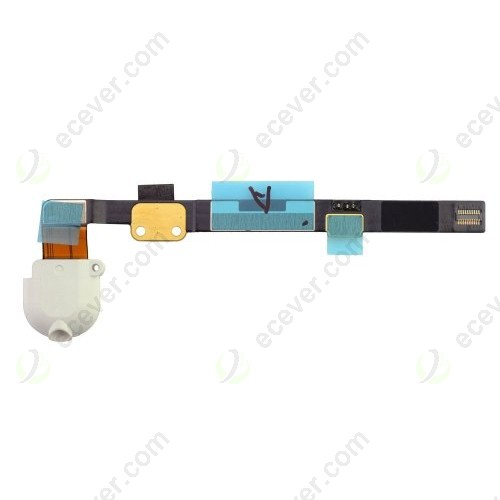 iPad mini headphone jack flex cable ribbon white