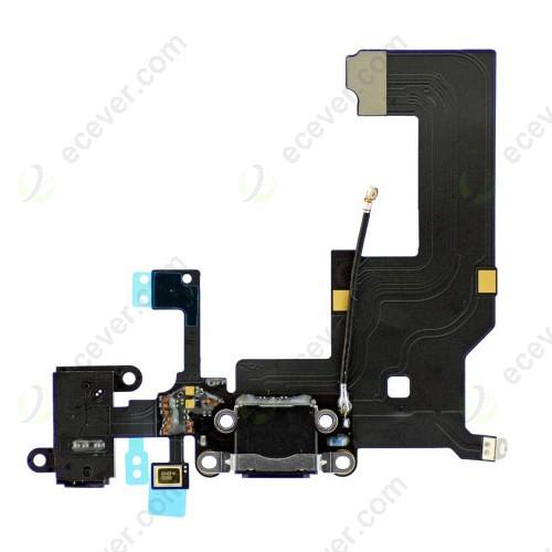 iPhone 5 Dock Connector Lightning Charging Port Flex Cable Black