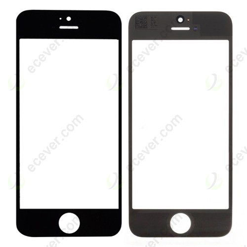 iPhone 5 Front Glass Lens Black