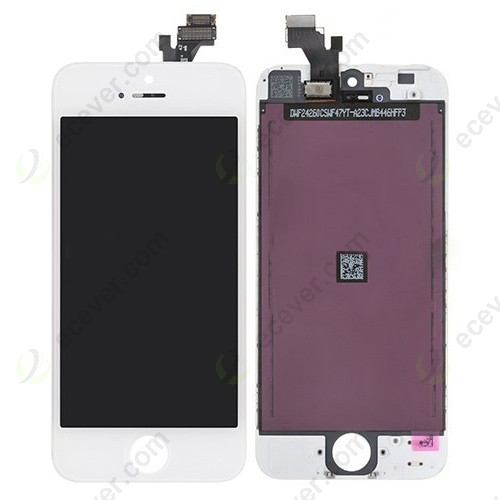 OEM iPhone 5 LCD Screen Combo with digitizer white