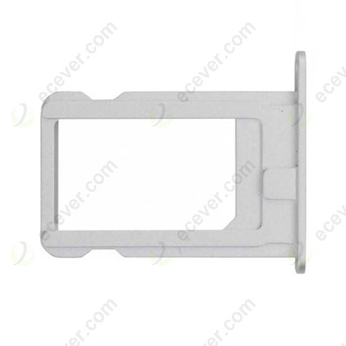 OEM iPhone 5S SIM Card Holder Tray Silver White