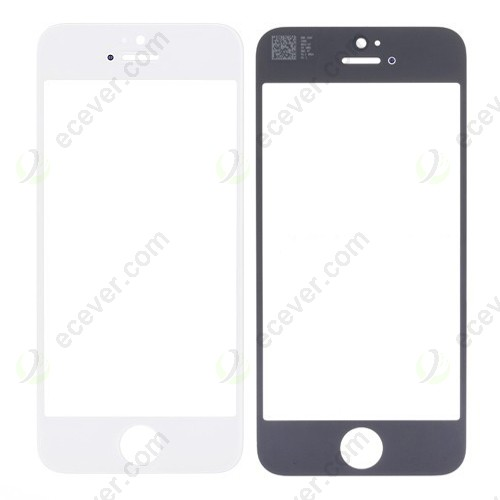 iPhone 5 Touch Glass Lens White