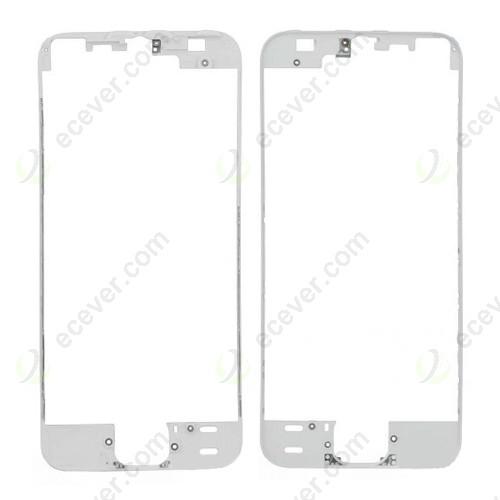 Front Frame Bezel for iPhone 5S LCD Screen White