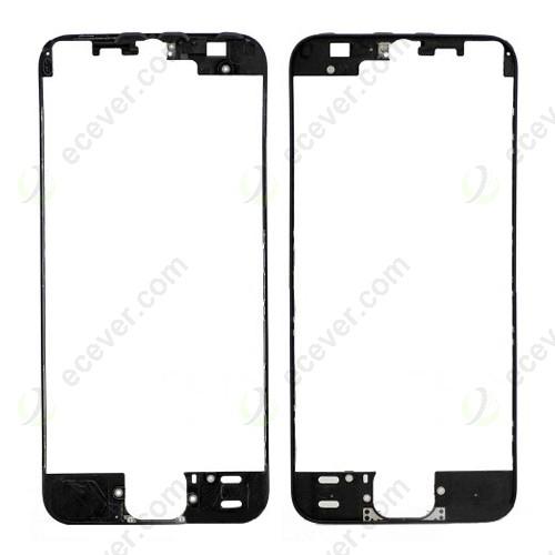 For iPhone 5S/SE Plastic Frame Bezel Black