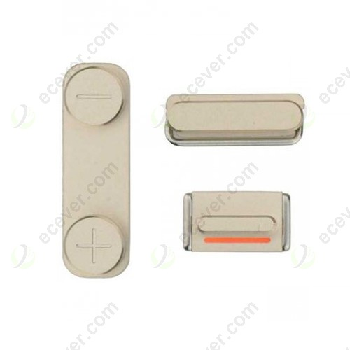 OEM iPhone 5S/SE Side Buttons Keys Gold