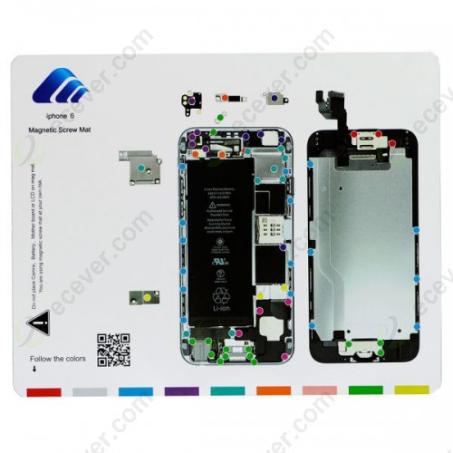 Magnetic Screw Mat for iPhone 6 4.7 inch