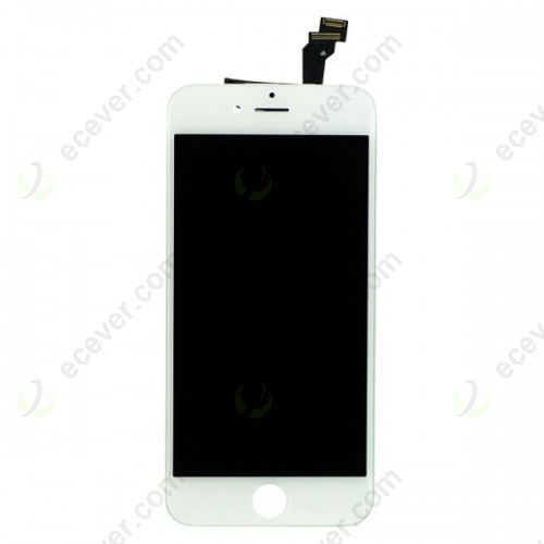 White for iPhone 6 LCD Screen Touch Digitizer Assembly