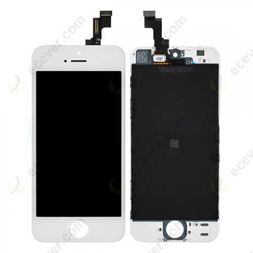 White Digitizer Touch Panel LCD Display for iPhone SE