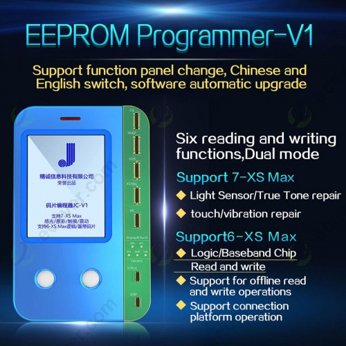 JC V1 Ambient Light Sensor Vibrator Data True Tone Read Write Machine Programmer for iPhone