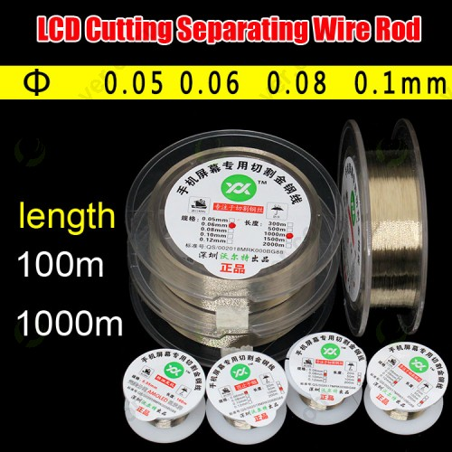 titanium LCD Cutting Separating Wire Rod