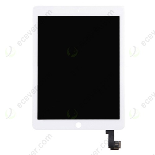 For iPad Air 2 LCD Screen Touch Digitizer Assembly White