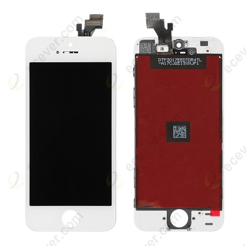 For iPhone 5 LCD Display Touch Panel Replacement White