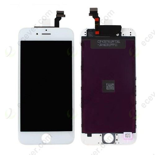 LCD Screen Touch Digitizer Assembly for iPhone 6 White