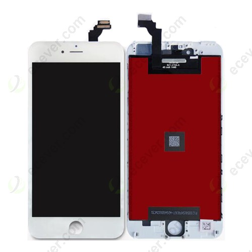 AUO LCD Screen Touch Digitizer Assembly for iPhone 6 Plus 5.5 inch White