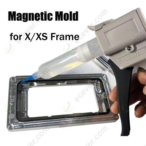 Magnetic Mold Mould for iPhone X XS LCD Frame Bonding