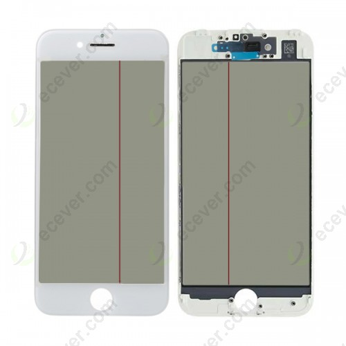 OEM 4 IN 1 iPhone 7 Glass Frame OCA Polarizer refurbishing LCD
