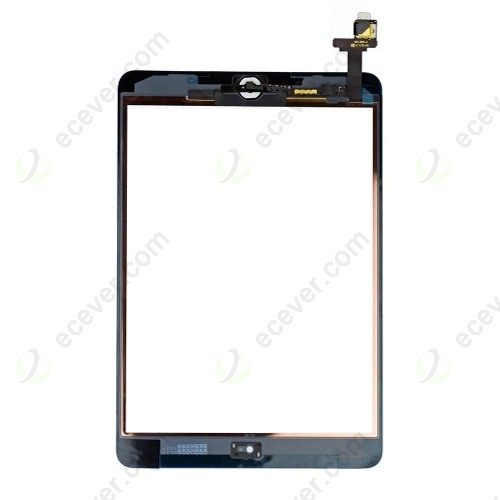OEM iPad Mini 2 Retina Digitizer with IC Connector Chip Assembly White