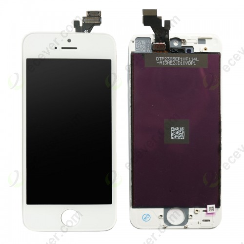 LCD Screen Digitizer Assembly for iPhone 5 White