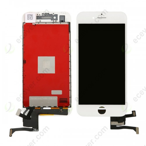 OEM iPhone 7 LCD Screen Digitizer frame Touch Panel Complete white
