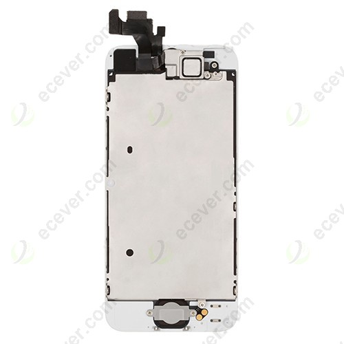 iPhone 5 lcd assembly with small parts white