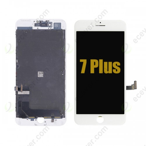 Original iPhone 7 Plus  LCD Screen Panel Display Touch Glass White
