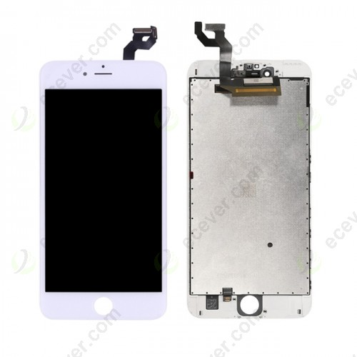 Original White iPhone 6S Plus LCD Display Touch Screen Assembly Repair Part