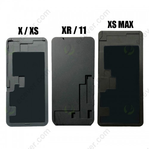 Silicone Rubber Pad Mat Mold Mould For iPhone X XR XS max lamination refurbish