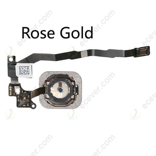 For iPhone SE Home Button Assembly Rose Gold