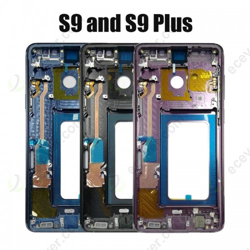 Front OLED frame housing Plate for Samsung galaxy S9 S9 Plus