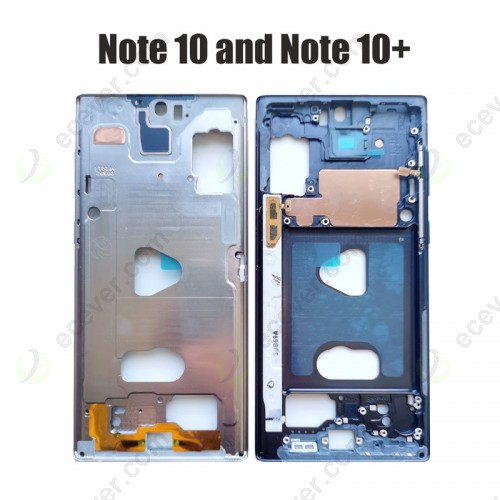 Front Middle Frame For Samsung Galaxy Note 10 and Note 10+ Plus